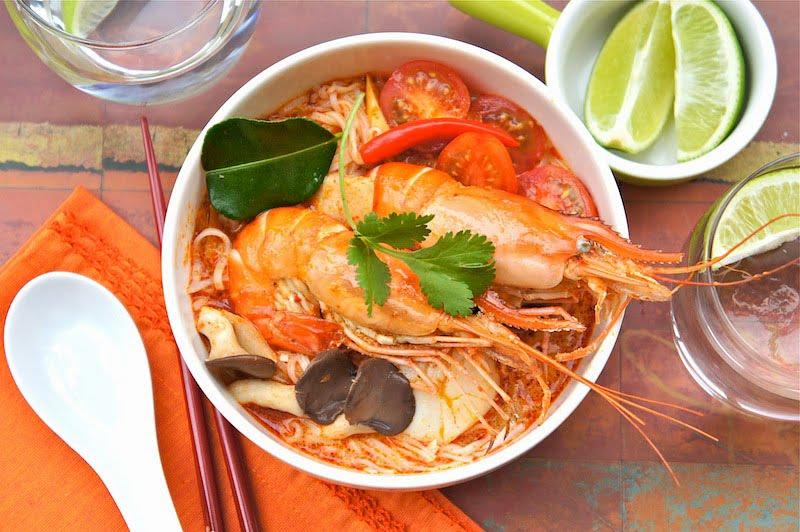 Tom Yum aka Spicy Lemongrass Soup | Pad Thai Too